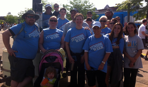 Photo Of Team Questeq At The 2013 Tillotson Walk