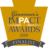 2014 PA Governor's Impact Awards Finalist