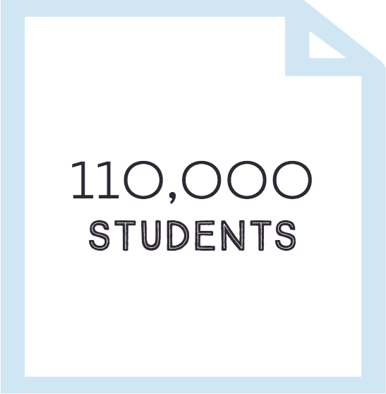 Over 100,000 Students