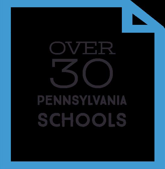 Over 30 Pennsylvania Schools