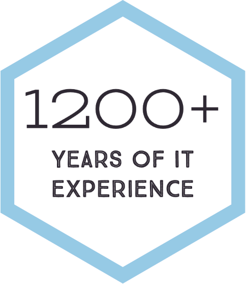 Over 1100 Plus Years Of IT Experience