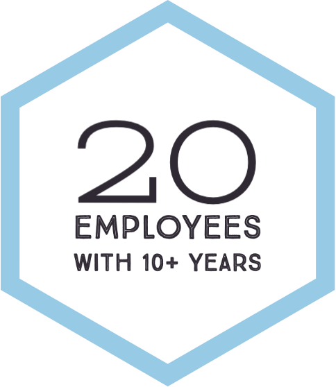 17 Employees With 10 Plus Years
