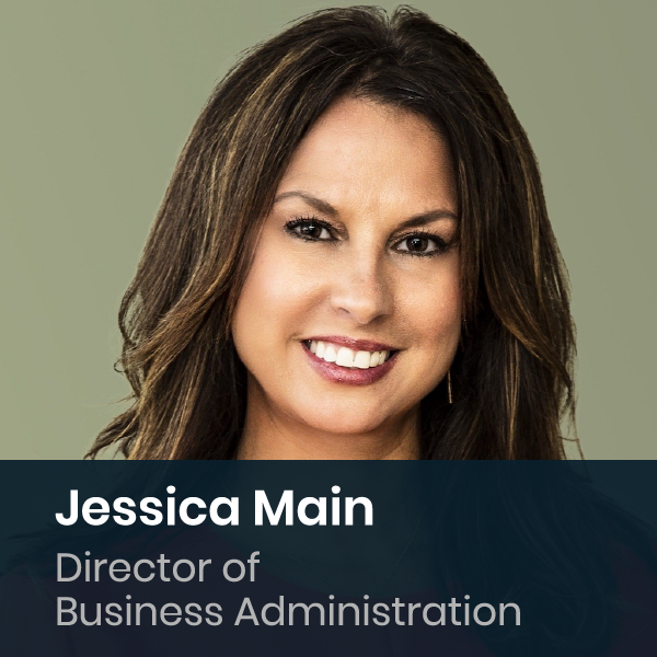 Jessica Main - Director Of Business Administration