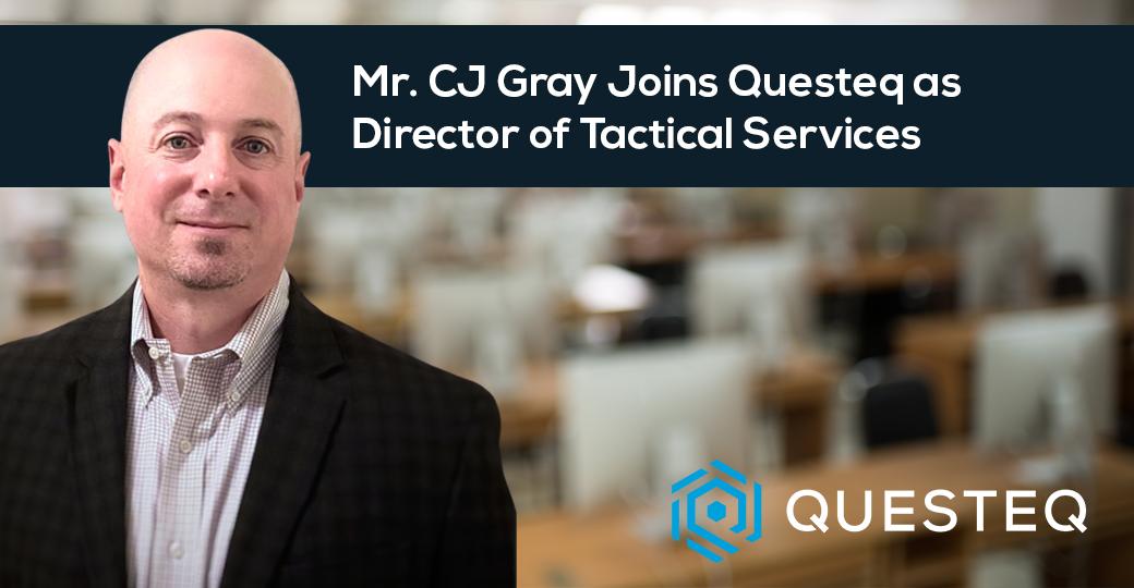 CJ Gray Joins Questeq